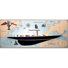 Amati 1700.01 J-Class Endeavour (Half Hull)