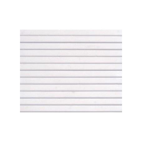 Noch 55065 Valsad plåt, vit, mått 30 x 18 cm, 3 mm