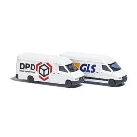 """Busch 8308 Set med 2 st Skåpbilar """"DPD / GLS"""""""