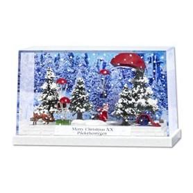 "Busch 7655 Litet diorama ""Merry Christmas XX"". PC-Box"