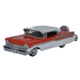 Oxford Models 115118 Mercury Turnpike Fiesta Red Classic White 1957