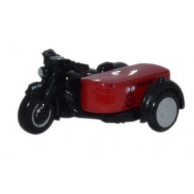 Oxford Models 116344 Motorbike and Sidecar Royal Mail