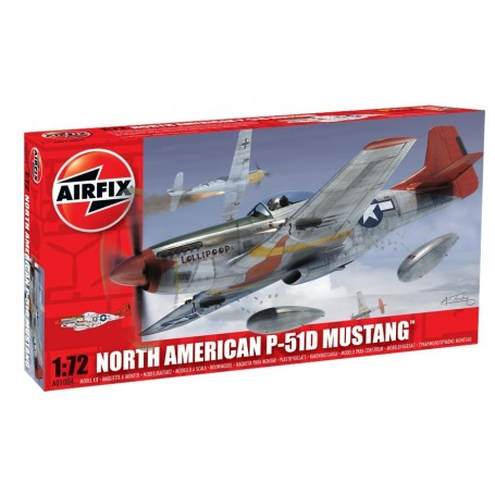 Airfix 01004 Flygplan North American P-51D Mustang