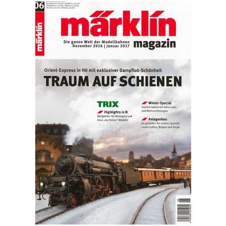 Märklin 269739 Märklin Magazin 6/2016 Tyska