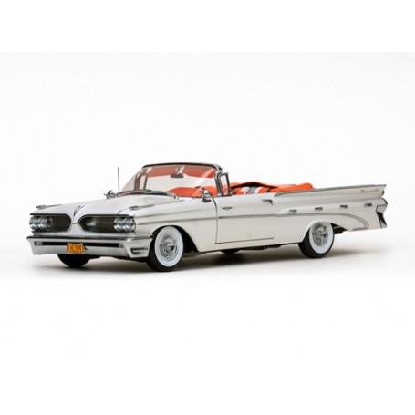 Sun Star 5184 Pontiac Bonneville Open Convertible 1959, Cameo Ivory