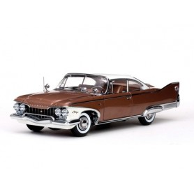 Sun Star 5422  Plymouth Fury Hard Top, 1960, Oyster White/Caramel Metallic