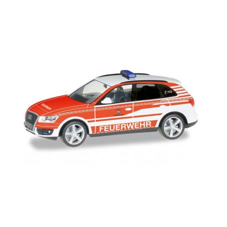 "Herpa 092975 Audi Q5 commando vehicle ""fire Department Ransbach-Baumbach"""