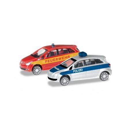 "Herpa 066549 Mercedes-Benz B-Klasse ""Police / fire department"""