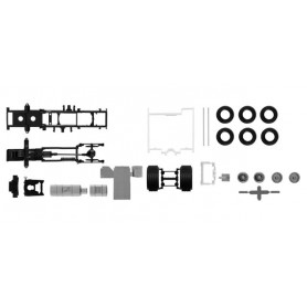 Herpa 084635 TS Chassis Scania CS 20 without side skirting