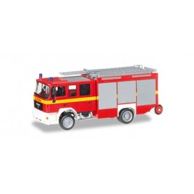 "Herpa 092906 MAN M 2000 fire truck HLF 20 ""fire department"""