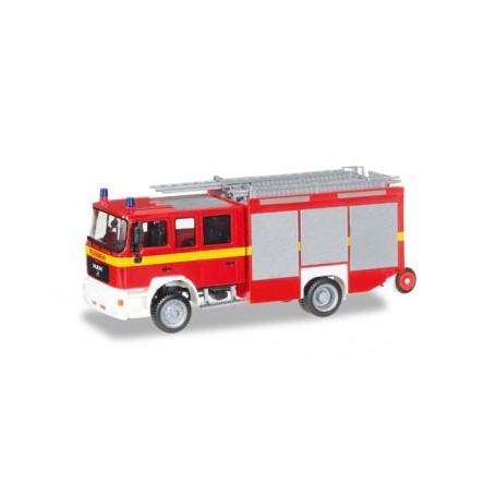 """Herpa 092906 MAN M 2000 fire truck HLF 20 """"fire department"""""""