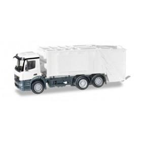 Herpa 012928 Herpa MiniKit: Mercedes-Benz Antos garbage truck, white