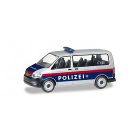 "Herpa 092883 VW T6 Bus ""Police department Austria"" (A)"