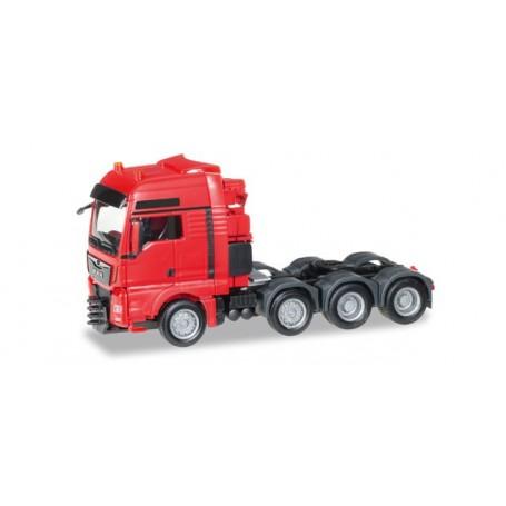 Herpa 304375.2 MAN TGX XXL 640 E6 heavy duty rigid tractor, red