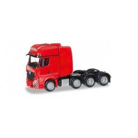 Herpa 304368.3 Mercedes-Benz Actros Gigaspace SLT 4-axle heavy duty rigid tractor, red