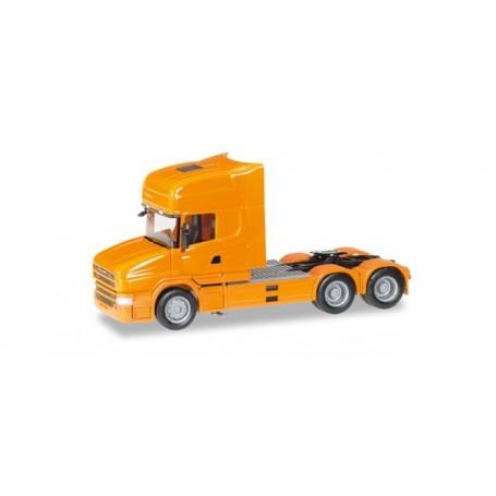 Herpa 151726.6 Scania Hauber TL rigid tractor 6x4, orange