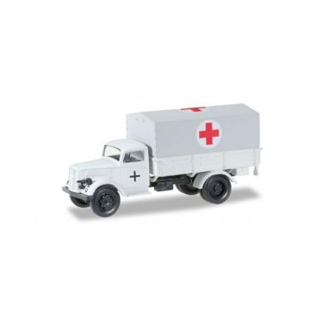 "Herpa 745772 Opel Blitz Medical vehicles ""Deutsche Armee bei Moskau"""