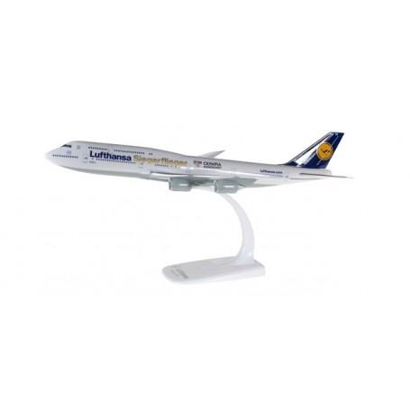 """Herpa 611428 Flygplan Lufthansa Boeing 747-8 Intercontinental """"Siegerflieger Olympia Rio 2016"""""""