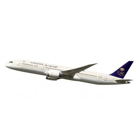 Herpa 611398 Flygplan Saudia Boeing 787-9 Dreamliner