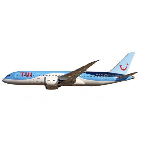 Herpa 611466 Flygplan TUI Airlines Boeing 787-8 Dreamliner Belgium (Jetairfly)