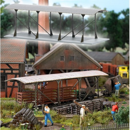 Busch 1543 Shelter for Engines and Wagons