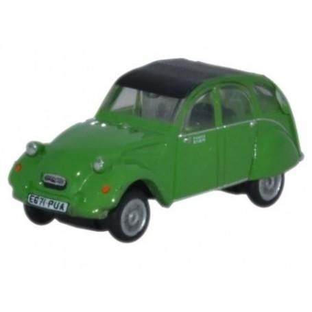 Oxford Models 113275 Citroen 2CV Bamboo Green