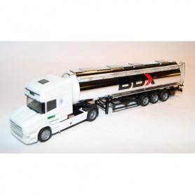 "AHM AH-657 Bil & Tanktrailer Scania Hauber R Topline ""BDX"""