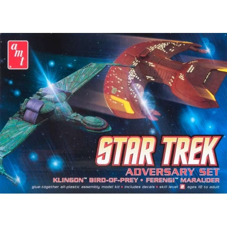 "AMT 752 Star Trek ""Adversary Set"""