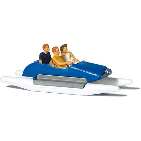 Preiser 10682 Familj i trampbåt