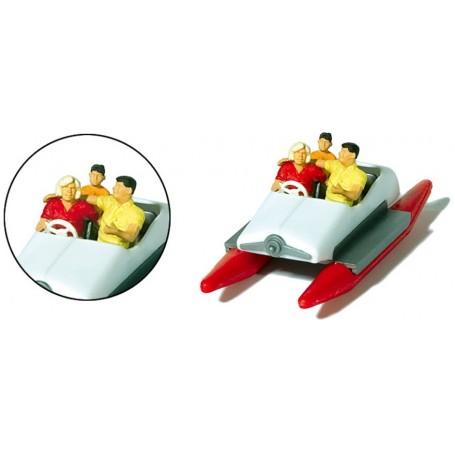 Preiser 10683 Familj i trampbåt
