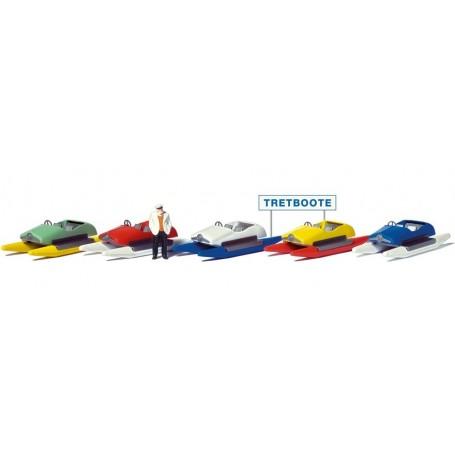Preiser 10685 Trampbåtsuthyrning
