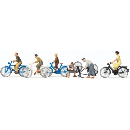 Preiser 10716 Cyklister