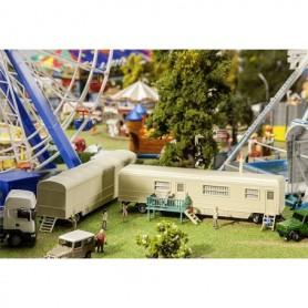 Faller 140481 Set of funfair caravans II