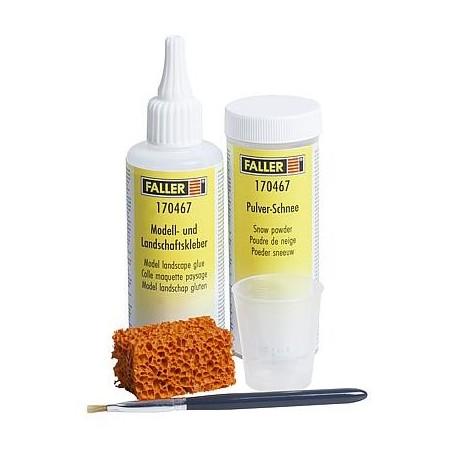 Faller 170467 Snow powder kit, 100 g/105 g
