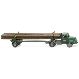 "Wiking 39010 Timber transporter (Mag. S 3500 ""W&W Holzbau"""