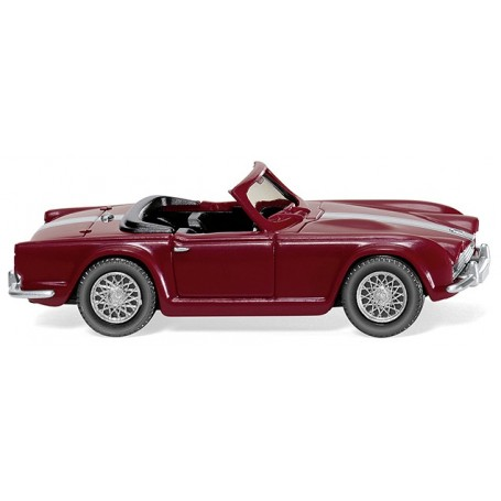 Wiking 81505 Triumph TR4 - red