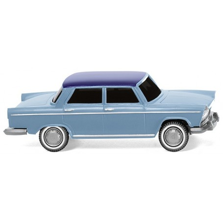 Wiking 09003 Fiat 1800 - pastel-coloured with night blue roof