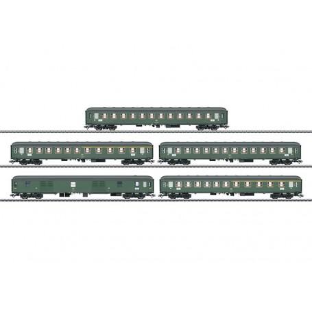 Märklin 42918 Vagnsset med 5 personvagnar typ DB