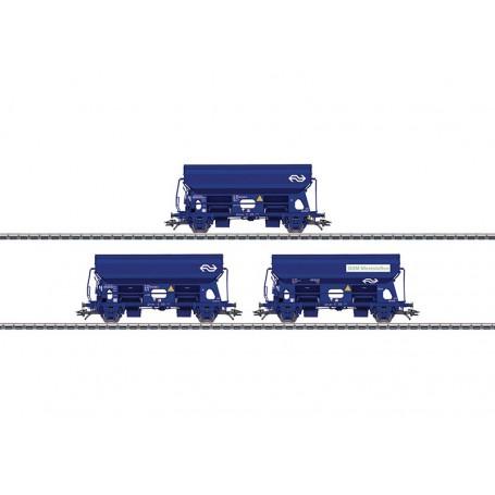 Märklin 46305 Vagnsset med 3 sädestransportvagnar Tds typ NS