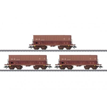 Märklin 48435 Vagnsset med 3 godsvagnar typ Fals SNCB/NMBS