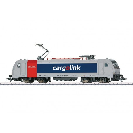 "Märklin 36633 Ellok klass 185.6 TRAXX 2 ""Railpool - Cargolink"" A/S Norway"