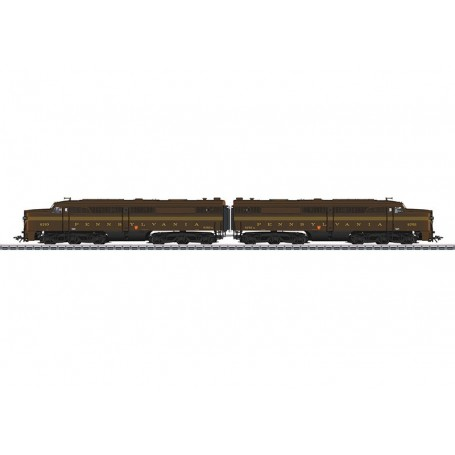 Märklin 39617 Dubbelt diesellok klass Alco PA-1 Pennsylvania Railroad PRR