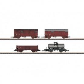 Märklin 82041 Vagnsset med 4 godsvagnar typ DR