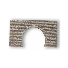 Noch 37962 Tunnelportal, beige, 2-spårs, mått 14 x 8 cm