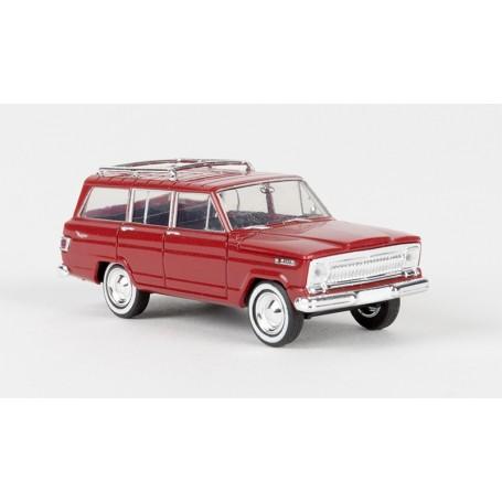 Brekina 19850 Jeep Wagoneer, röd, TD