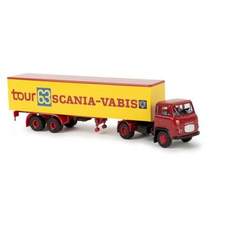 "Brekina 85156 Scania LB 76 ""Scania-Vabis tour 63"""