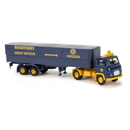 "Brekina 85155 Scania LB 76 ""ASG Sweden - Roadferry Great Britain"""