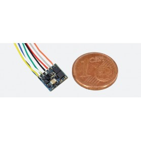 ESU 53620 LokPilot Fx Nano, Function decoder MM/DCC, NEM652 8-pin interface with Wire harness