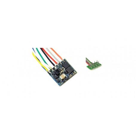ESU 53661 LokPilot Nano Standard, DCC decoder, NEM652 8-pin interface with wire harness