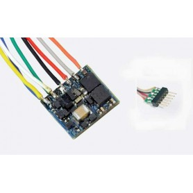 ESU 53664 LokPilot Nano Standard, DCC decoder, NEM651 6-pin interface with wire harness